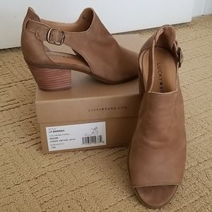 LUCKY LP-Bannah Sesame Heels Sandals
